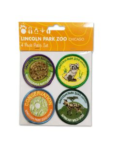 LPZ Conservation Patches 4pk