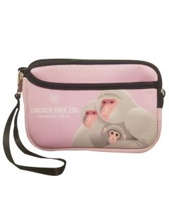 Macaque Wristlet Coin Purse
