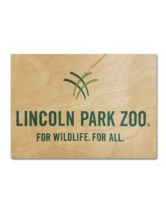 LPZ Wood Postcard