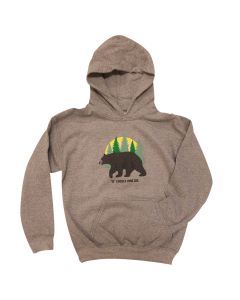 Boy Pullover Bear Fleece